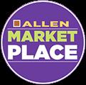 Allen marktet Place Logo