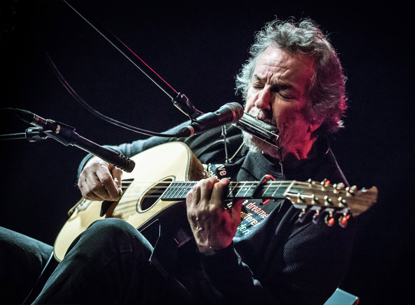 Irish Singer Andy Irvine