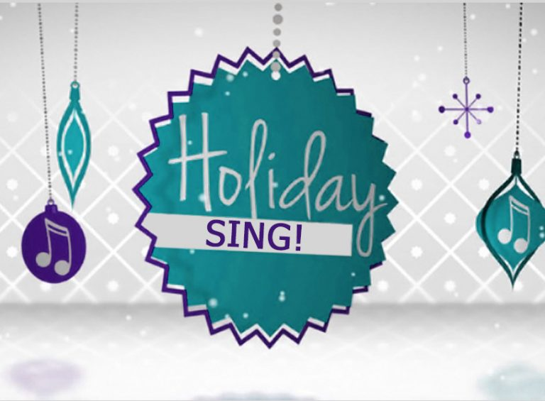 Holiday Sing, hosted by Sally Potter