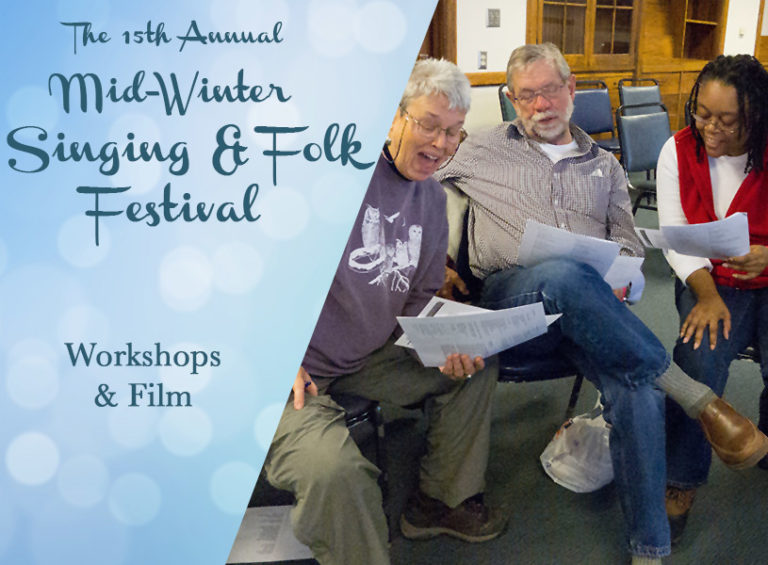 Workshops - Mid-Winter Singing and Folk Festival